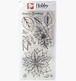 Poinsettia (Hobby Art Clear Stamps)