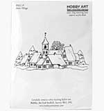 SO: Snow Village (Hobby Art Cling Stamp)