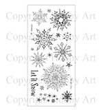 Hobby Art Stamp Set - Winters Snowflakes
