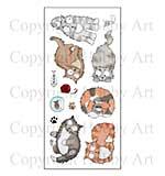 Hobby Art Stamp Set - Catz