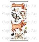 Hobby Art Stamp Set - Dogz