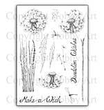Hobby Art Stamp Set - Dandelion Wishes