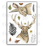 Hobby Art Stamp Set - Stag & Hare