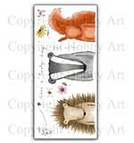 Hobby Art Stamp Set - Woodland Friends