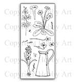Hobby Art Stamp Set - Floral Garden