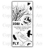 Hobby Art Stamp Set - Take Flight