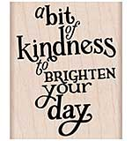 Hero Arts Mounted Rubber Stamp 2.5x2 - A Bit Of Kindness
