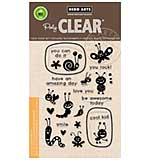 Hero Arts Clear Stamps 4x6 - Lunch Box Notes