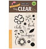Hero Arts Clear Stamps - Colour Layering Happy Day Flowers