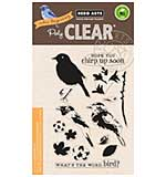 Hero Arts Clear Stamps - Colour Layering Bird and Branch