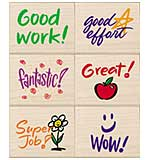 PRE: Hero Arts Mounted Rubber Stamp Set - Stamps For Students