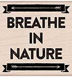PRE: Hero Arts Mounted Rubber Stamp - Breathe In Nature