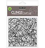 PRE: Hero Arts Cling Stamps - String Background Bold Prints