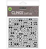 PRE: Hero Arts Cling Stamps - Glasses Bold Prints