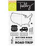 PRE: Kelly Purkey Clear Stamps - Road Trip