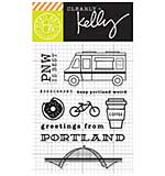 PRE: Kelly Purkey Clear Stamps - Portland