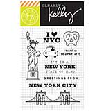PRE: Kelly Purkey Clear Stamps - New York