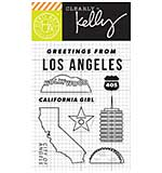 Kelly Purkey Clear Stamps - Los Angeles