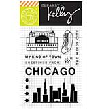 PRE: Kelly Purkey Clear Stamps - Chicago