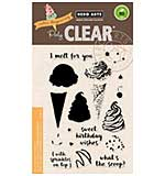 Hero Arts Clear Stamps - Colour Layering Ice Cream