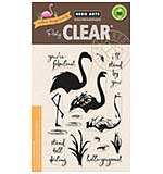 Hero Arts Clear Stamps - Colour Layering Flamingo