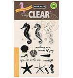 Hero Arts Clear Stamps - Colour Layering Seahorse