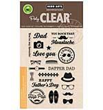 PRE: Hero Arts Clear Stamps - Dapper Dad