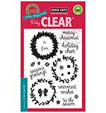 Colour Layering Wreath - Clear Stamp Set by Hero Arts