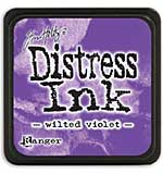 Distress Mini Ink Pad - Wilted Violet