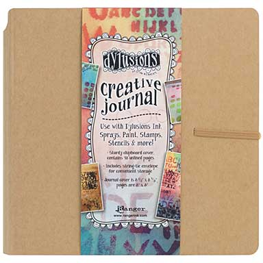 SO: Dyan Reaveley\'s Dylusions Creative Journal - Kraft 8.75 x 9