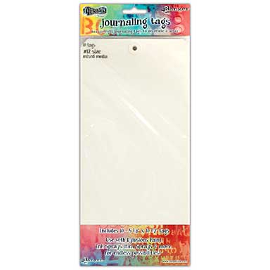 Dyan Reaveley\'s Dylusions Journal Tags 10pk - Media Paper #12