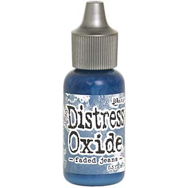SO: Tim Holtz Distress Oxides Reinkers - Faded Jeans