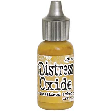 Tim Holtz Distress Oxides Reinkers - Fossilized Amber