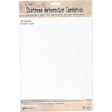 Tim Holtz Distress Watercolor Cardstock 10pk (8.5 x 11)