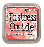 NEW COLOUR Tim Holtz Distress Oxides Ink Pad - Abandoned Coral
