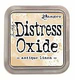 NEW COLOUR Tim Holtz Distress Oxides Ink Pad - Antique Linen