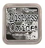 NEW COLOUR Tim Holtz Distress Oxides Ink Pad - Black Soot