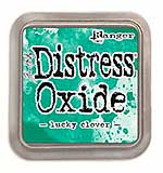 NEW COLOUR Tim Holtz Distress Oxides Ink Pad - Lucky Clover
