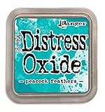 NEW COLOUR Tim Holtz Distress Oxides Ink Pad - Peacock Feathers