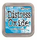 NEW COLOUR Tim Holtz Distress Oxides Ink Pad - Salty Ocean