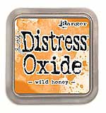 NEW COLOUR Tim Holtz Distress Oxides Ink Pad - Wild Honey
