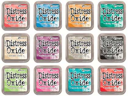 Tim Holtz Distress Oxides Fullsize Inkpad Set #2 (12 Colours) [OX1707]