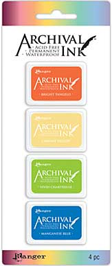 Mini Archival Ink Pad Kits - Kit 3