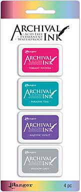 Mini Archival Ink Pad Kits - Kit 4