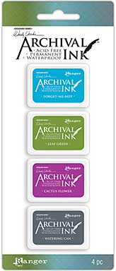 SO: Mini Archival Ink Pads - Set #2 (Wendy Vecchi)