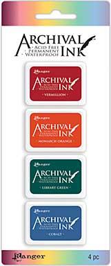 Archival Mini Ink Pad Kits - Kit 1