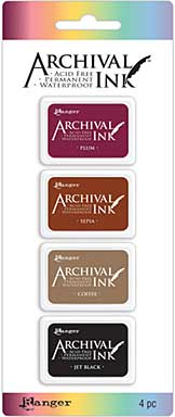 SO: Archival Mini Ink Pad Kits - Kit 2