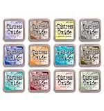 NEW COLOURS Tim Holtz Distress Oxides Fullsize Inkpad Set #3 (12 New Colours) [OX1801]