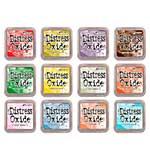 NEW COLOURS Tim Holtz Distress Oxides Fullsize Inkpad Set #4 (12 New Colours) [OX1807]