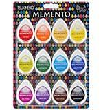 Memento Dew Drops Dye Ink Pads 12pk - Gum Drops